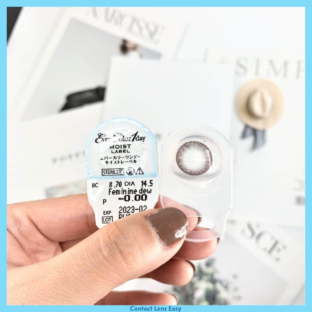 EverColor 1 Day Moist Label-feminine dew