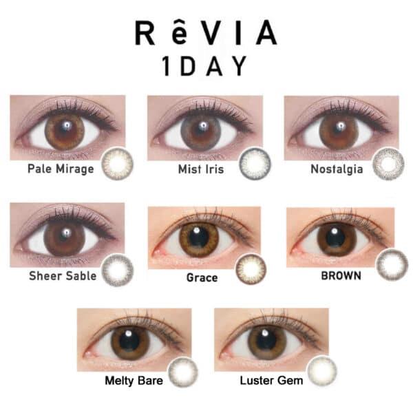 revia 1 day