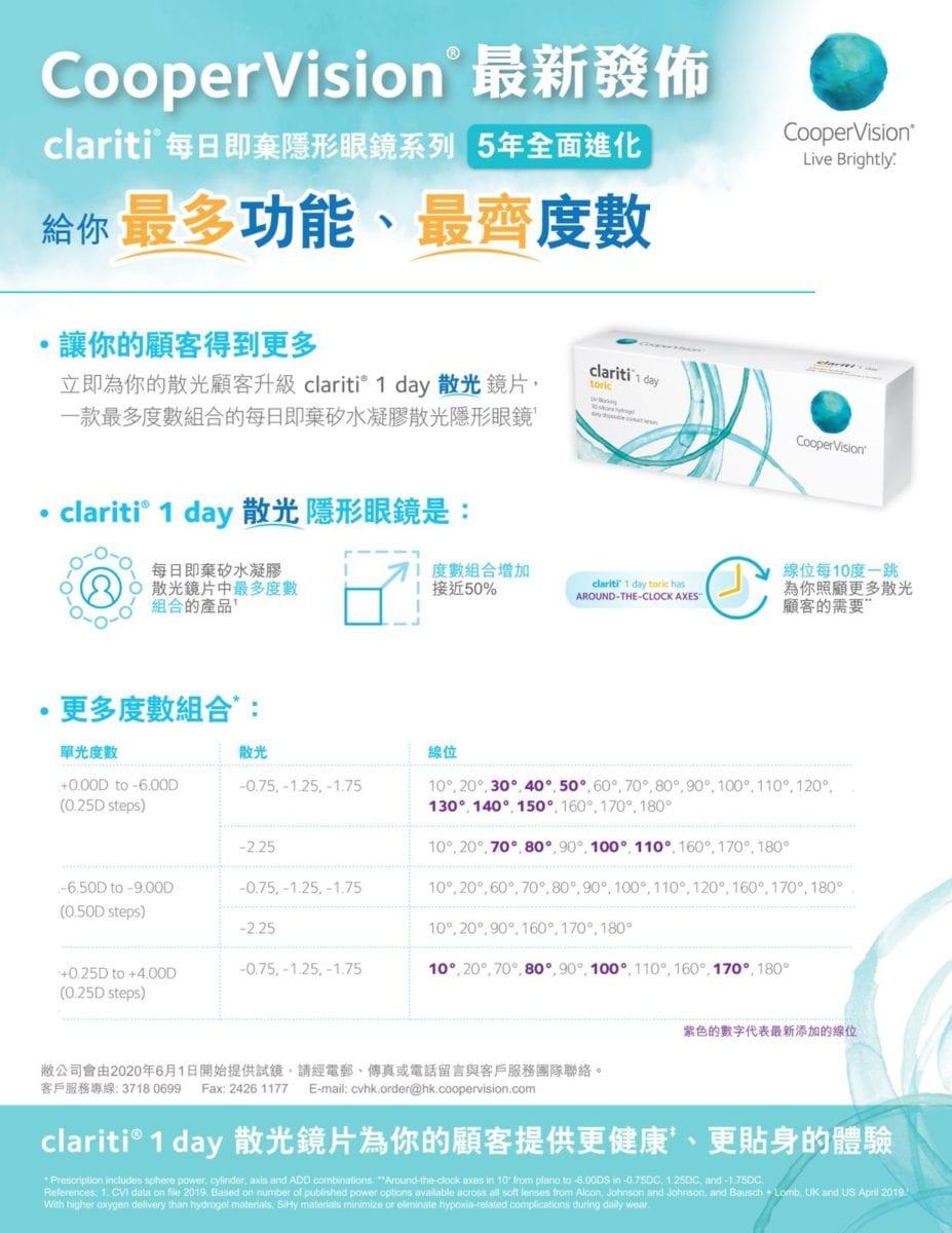 Clariti 1 Day Toric (散光)_info1