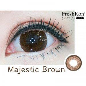 Freshkon Alluring Eyes 大美目 1 Day – Majestic Brown (原盒環保裝)