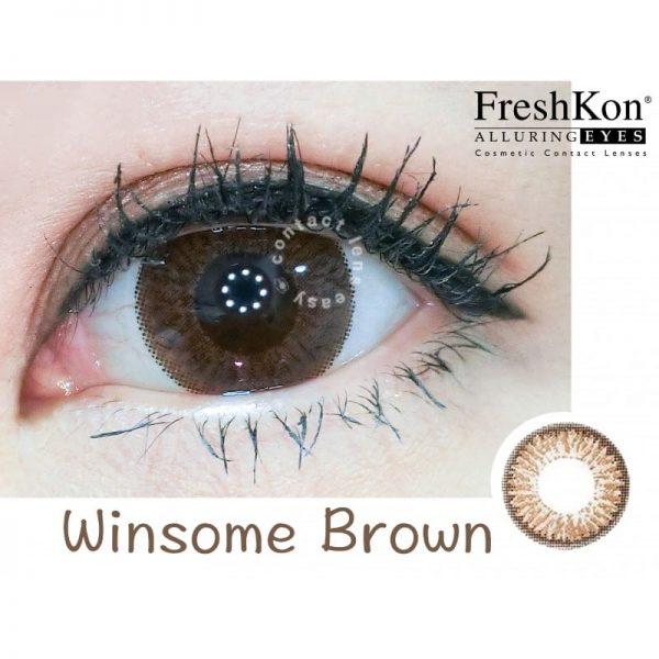 Freshkon Alluring Eyes 大美目 1 Day - Winsome Brown (原盒環保裝)_cover2