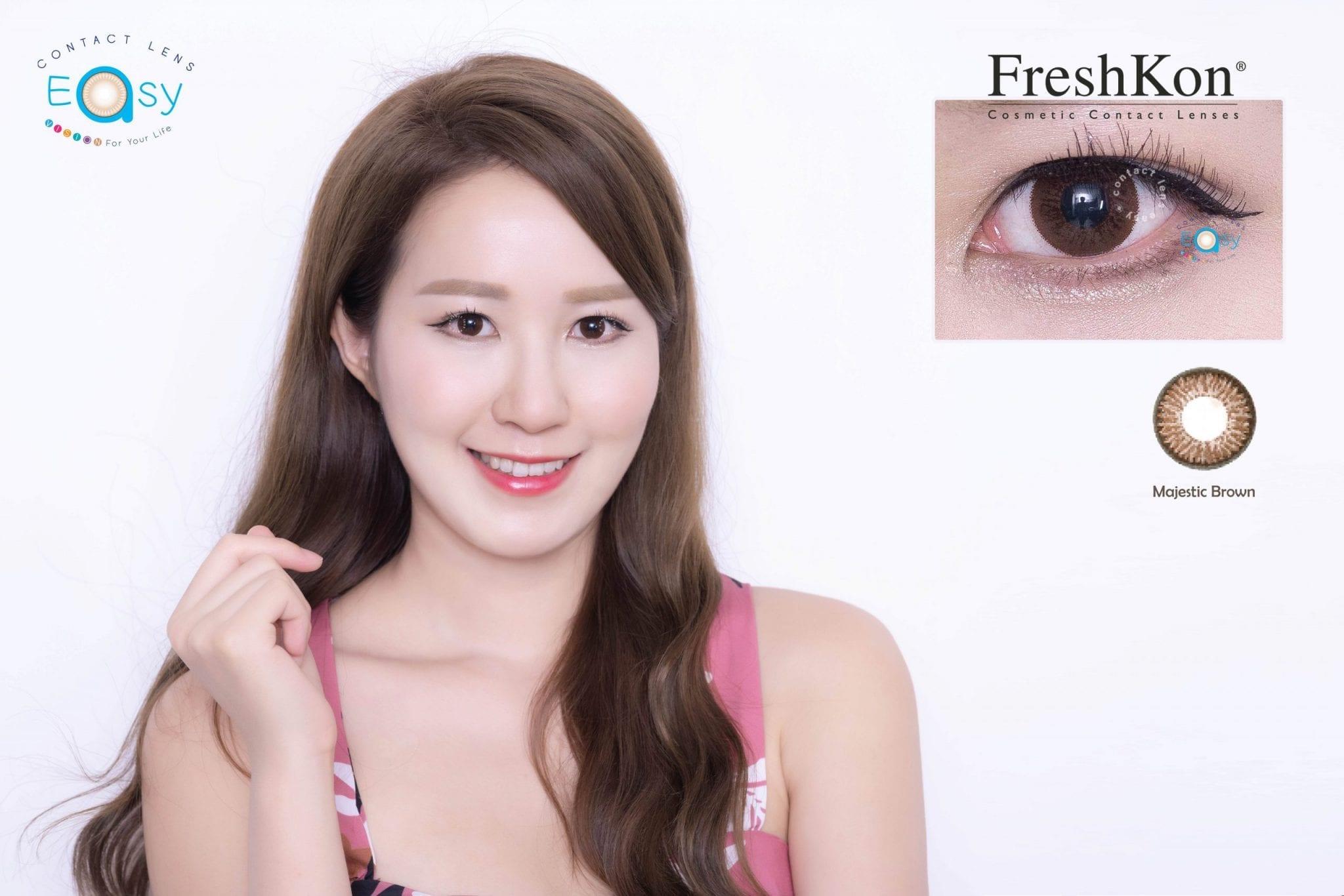 Freshkon Alluring Eyes 大美目 1 Day - Winsome Brown (原盒環保裝)_info2