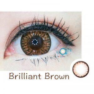 FreshKon Color Fusion 煥彩美目 1 Day – Brilliant Brown (原盒環保裝)