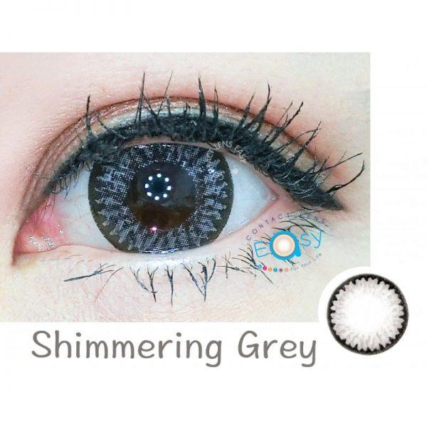 FreshKon Color Fusion 煥彩美目 1 Day - Shimmering Grey (原盒環保裝)_cover2